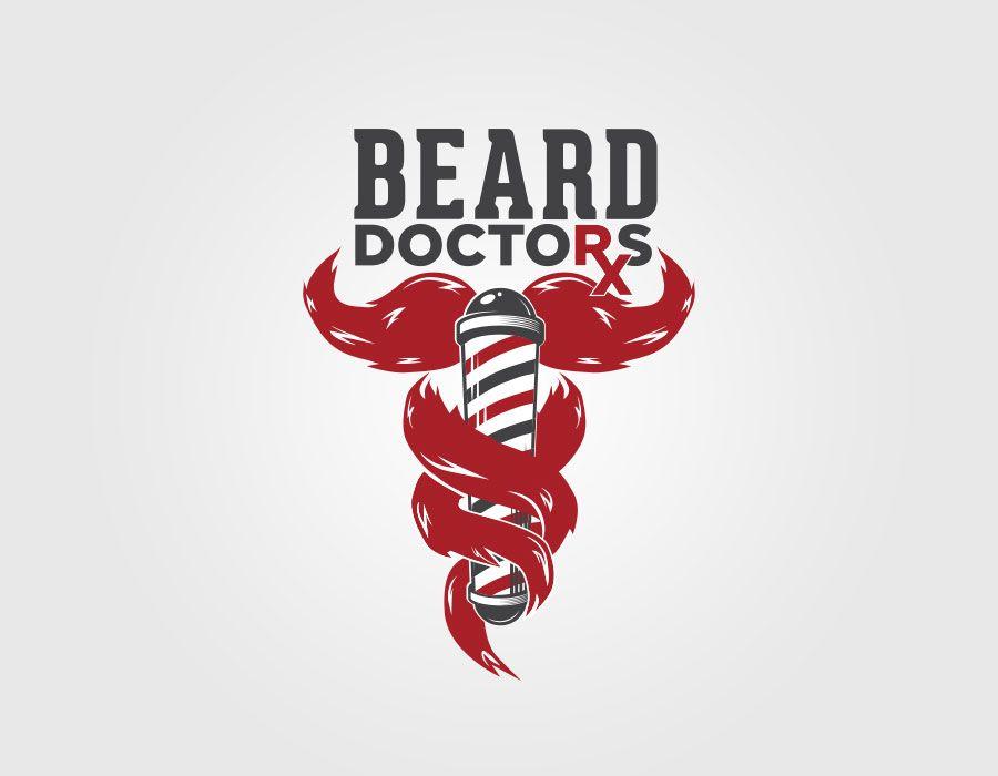 beard doctors logo design branding identity pinterest brand rh pinterest co uk doctors logos images doctors logo png