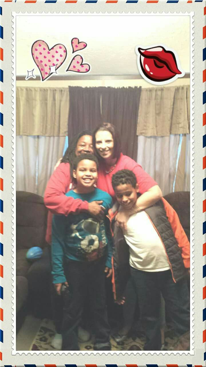 Diquane and skylar and  me and granny