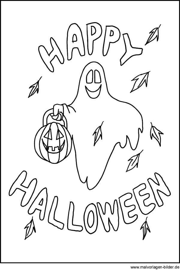 gruselige halloween ausmalbilder – Ausmalbilder für kinder ...