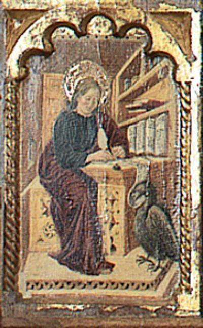 Giovanni Boccati da Camerino San Giovanni Evangelista