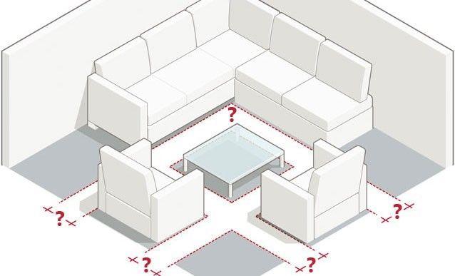 Mesures et dimensions pour aménager un salon Salons