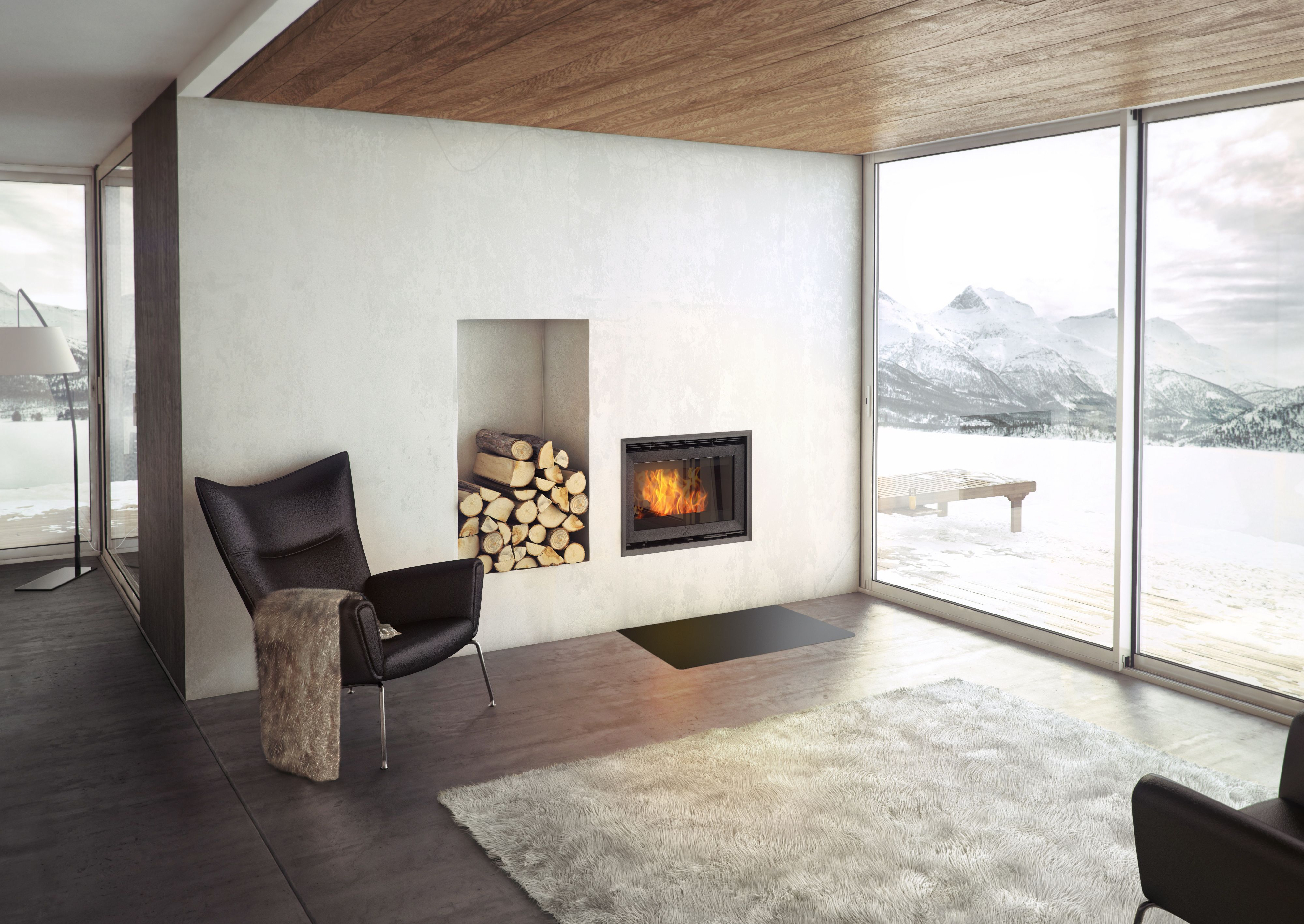 Jotul C24 Insert wood burning stove offers one of the worlds
