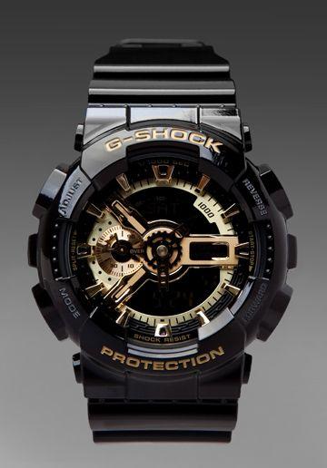 G-Shock GA-110 in Black Gold  cdefc4274