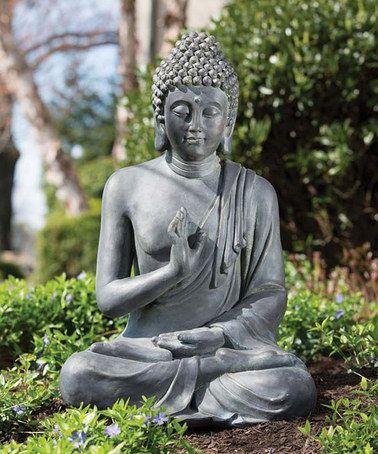 Another Great Find On Zulily Thai Buddha Garden Statue