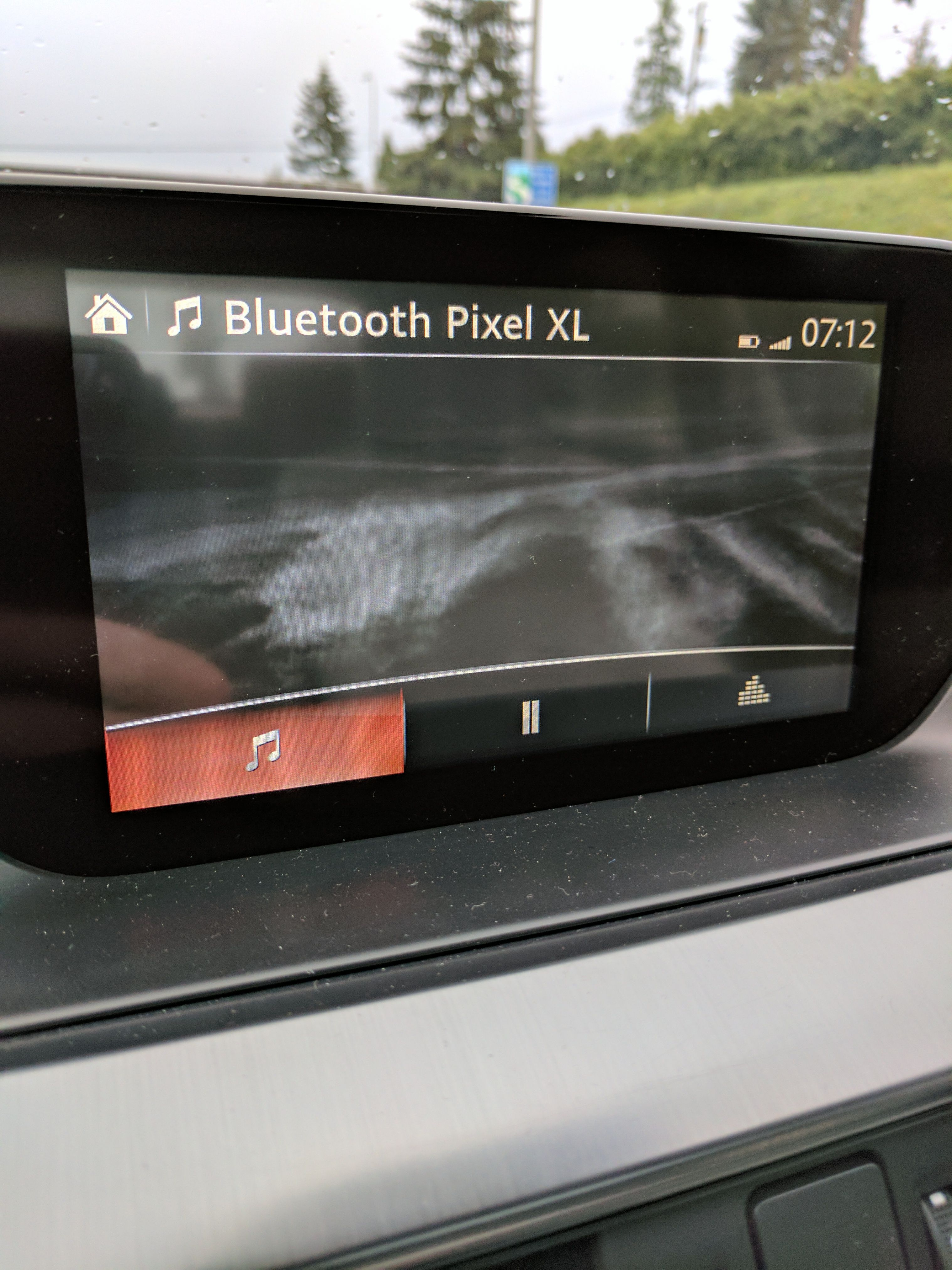 Anyone else have this issue with Bluetooth? 2016 Mazda6 GT. Randomly won't display skip track or song information on display. (Google Pixel) #Mazda #mx5 #miata #Roadster #eunos #TopMiata #cars #car