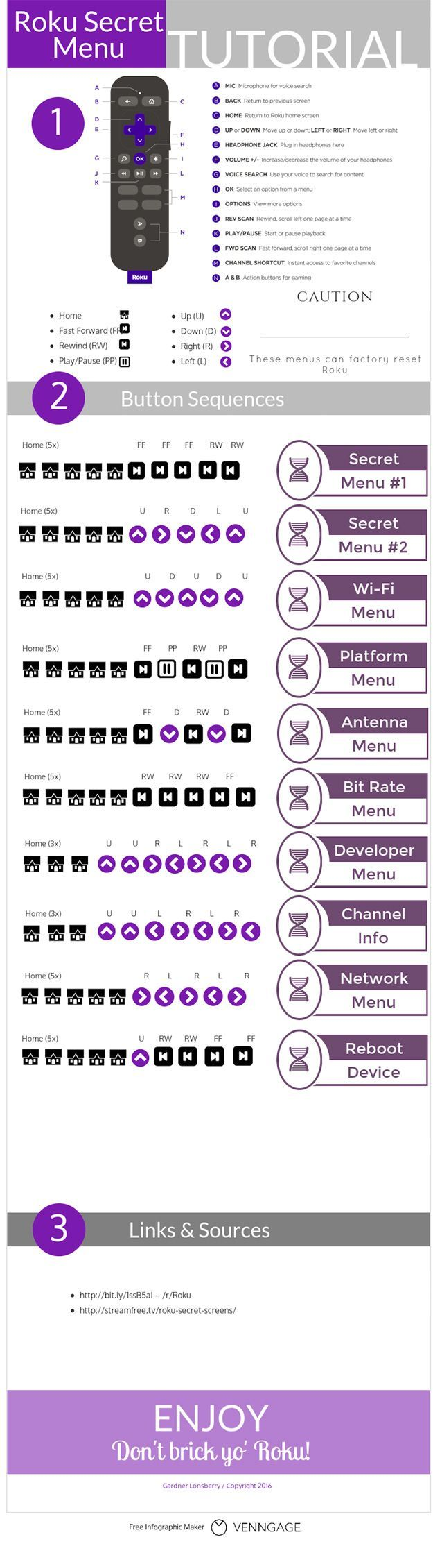 How to access all the hidden features on your Roku