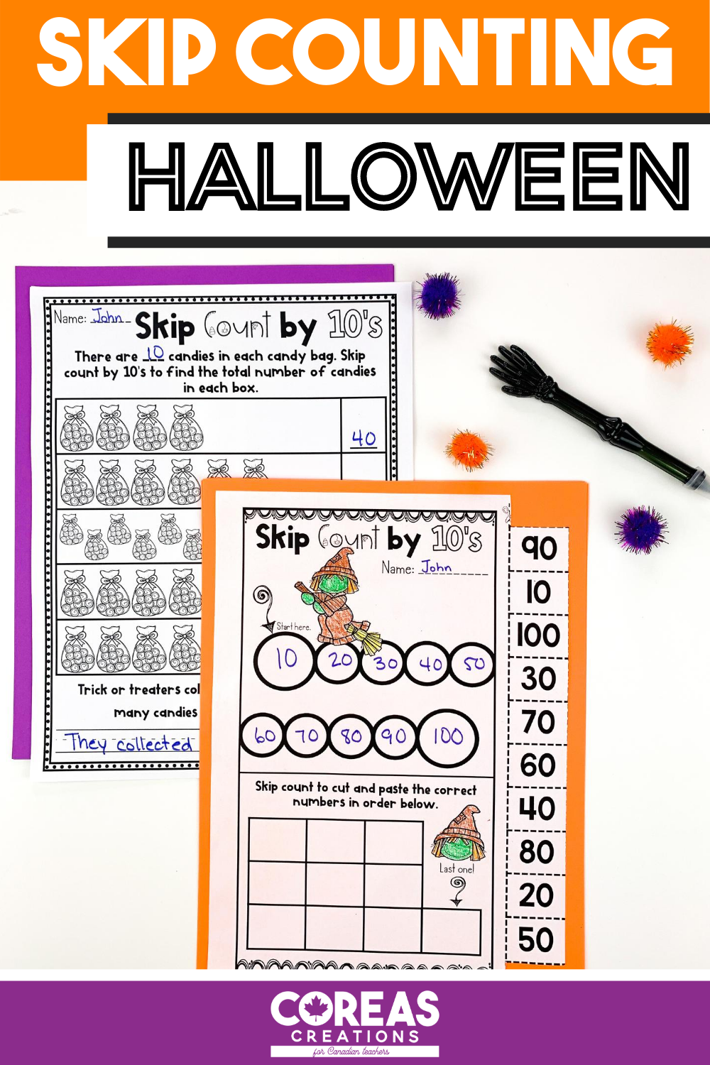Halloween Math Skip Counting By 2 5 10 In 2020 Halloween Math Kids Math Worksheets Halloween Math Worksheets [ 1500 x 1000 Pixel ]