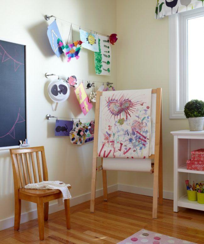 Kinderzimmer Deko Basteln | Kinderzimmer Deko Stahl Seile Haengen Basteln Leinwand Tafel