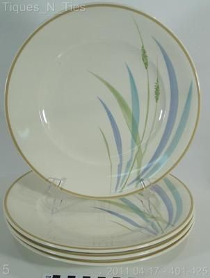 Set of 4 Villeroy Boch Switch Beach House Wind Dinner Plates | eBay $85.00 //.ebay.com/sch/tiques_n_ties/m.html | My China Cabinet | Pinterest ... & Set of 4 Villeroy Boch Switch Beach House Wind Dinner Plates | eBay ...