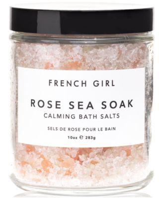 Photo of French Girl Rose Sea Soak Calming Bath Salts, 10-oz. & Reviews – Skin Care – Beauty – Macy's