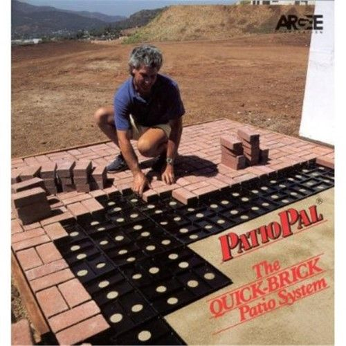 Patio Pal Brick Laying Guides For Standard Bricks 10 Pack Jet