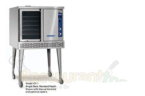 Imperial Küchenofen : Imperial commercial convection oven single deck standard depth