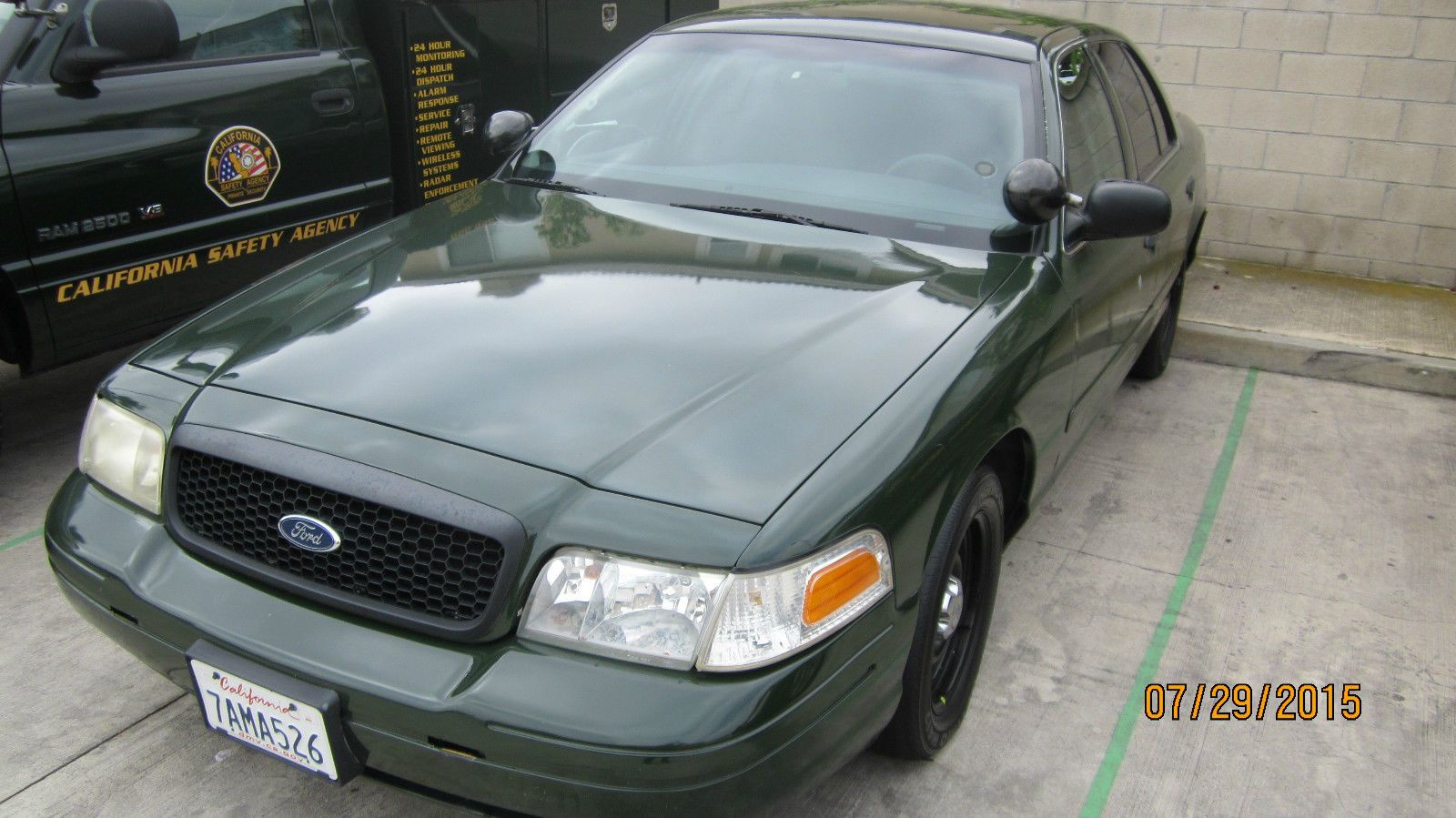 2001 ford crown victoria p71