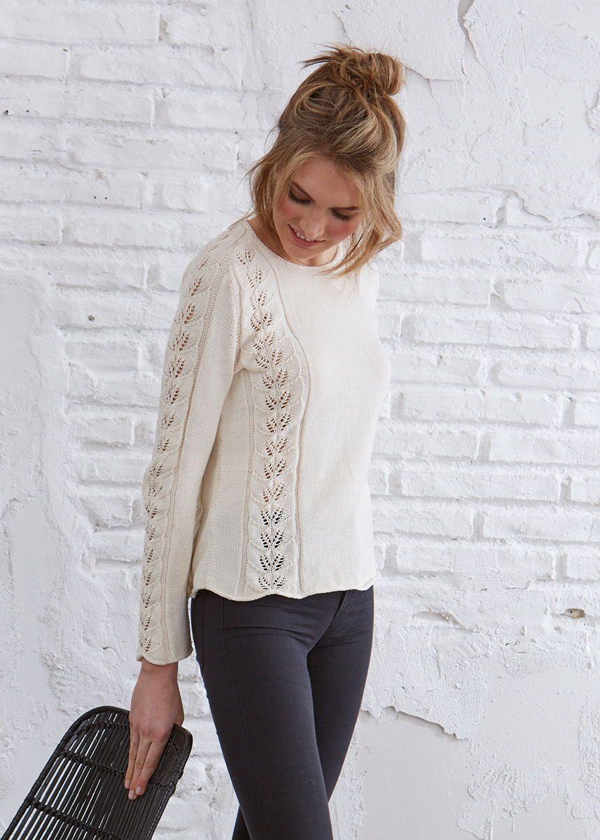 kostenlose Anleitung Der wunderschöne #Pullover wird durch