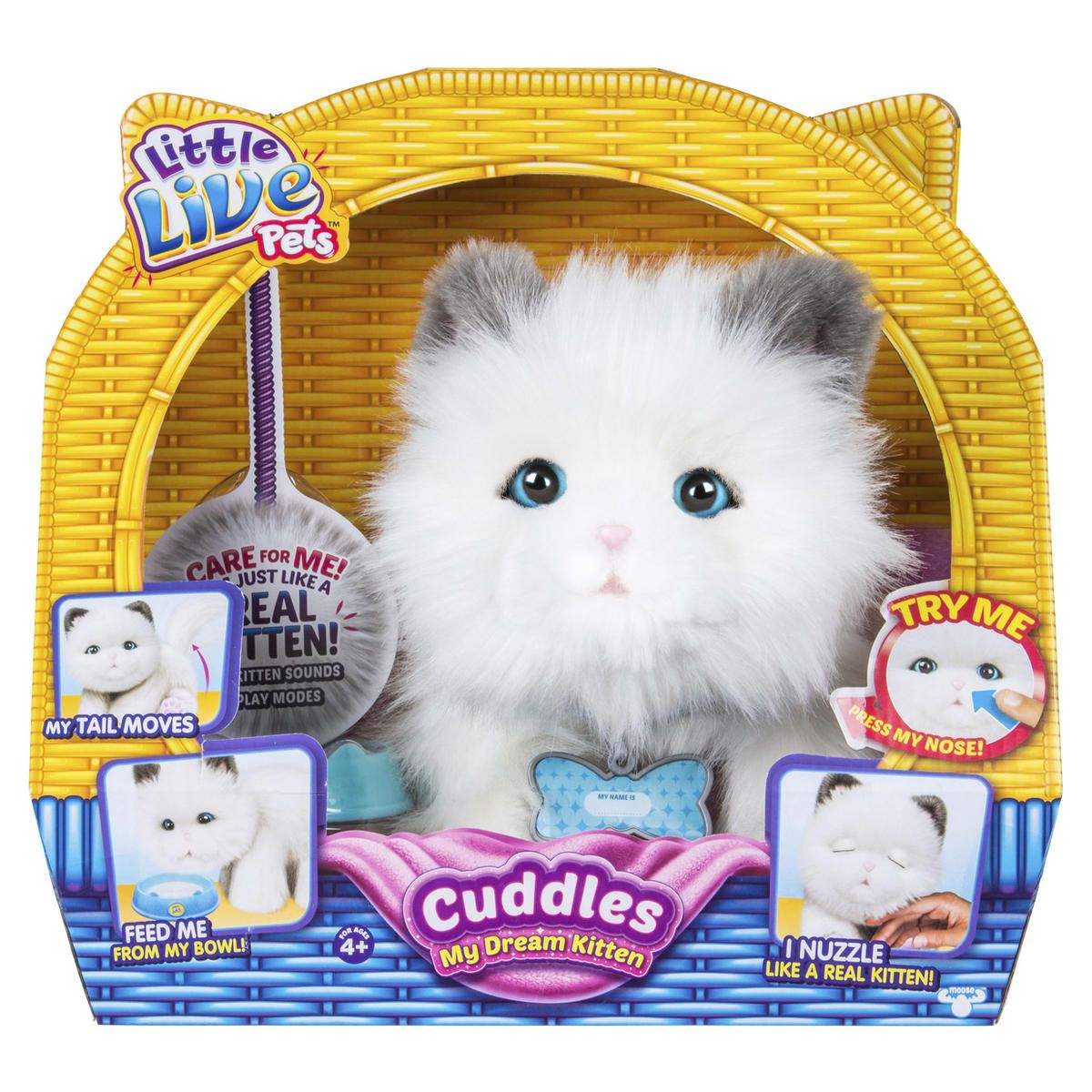 Little Live Pets Cuddles My Dream Kitten Kmart Pets Cuddling Little Live Pets Kitten Cuddle