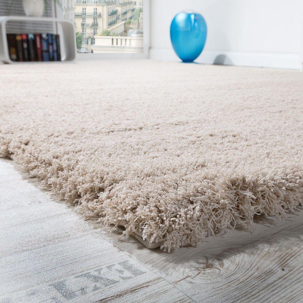 Shaggy Teppich Micro Polyester Wohnzimmer Teppiche Elegant ...