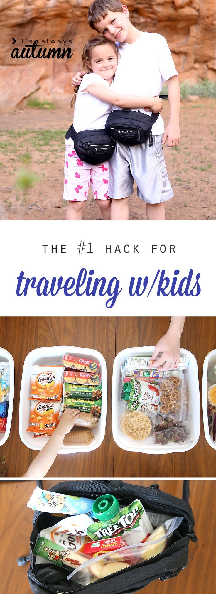 the VERY BEST hack for traveling with kids