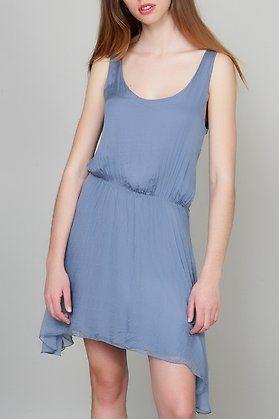 c63526098bb Vestido de seda con escote en espalda-Elarmariodelatele