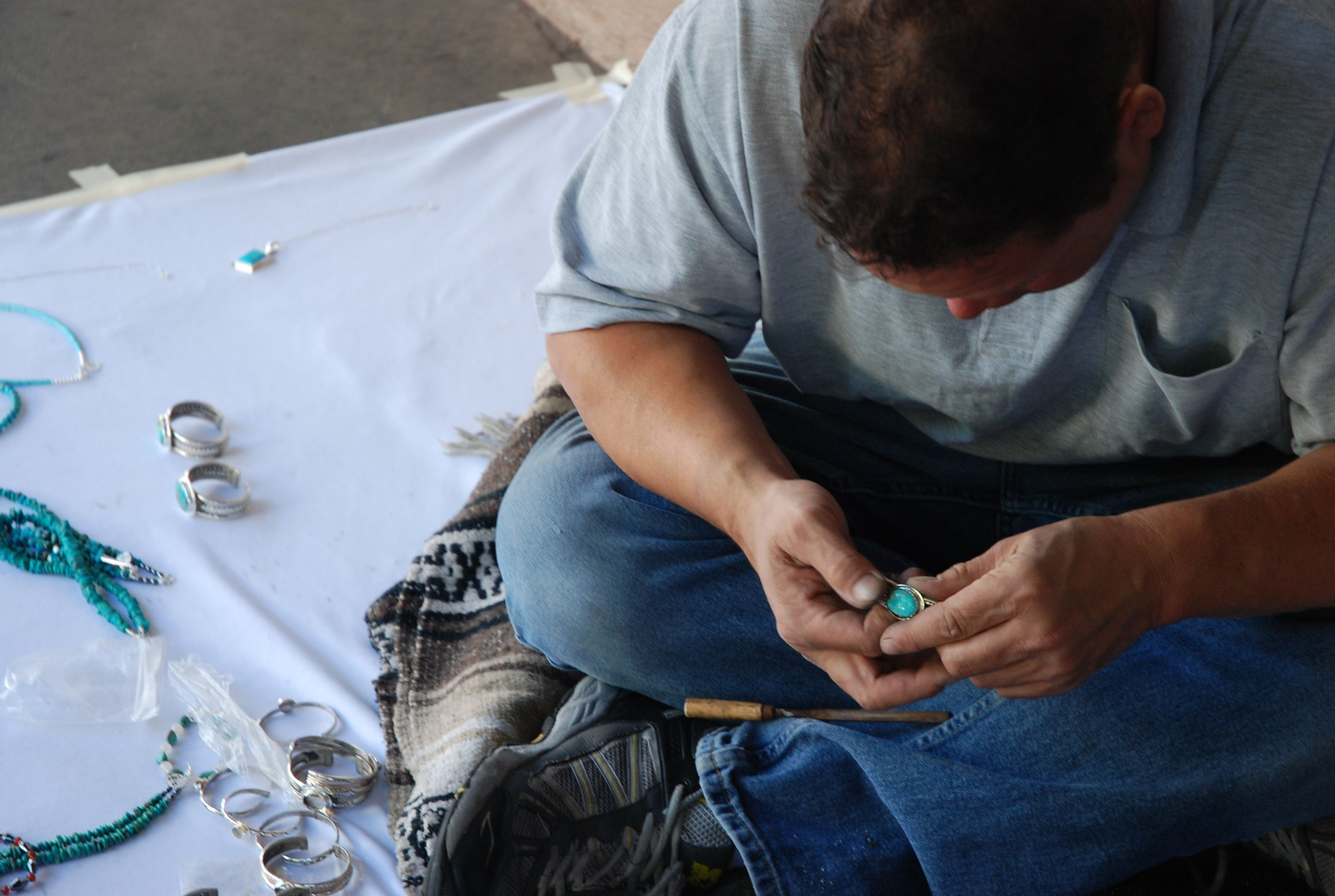 Jewlery Maker. District One needs more interesting gems and stones. People of the Capital are always trying to one up their neighbors,  we need to be able to keep up with the demand of jewels.
