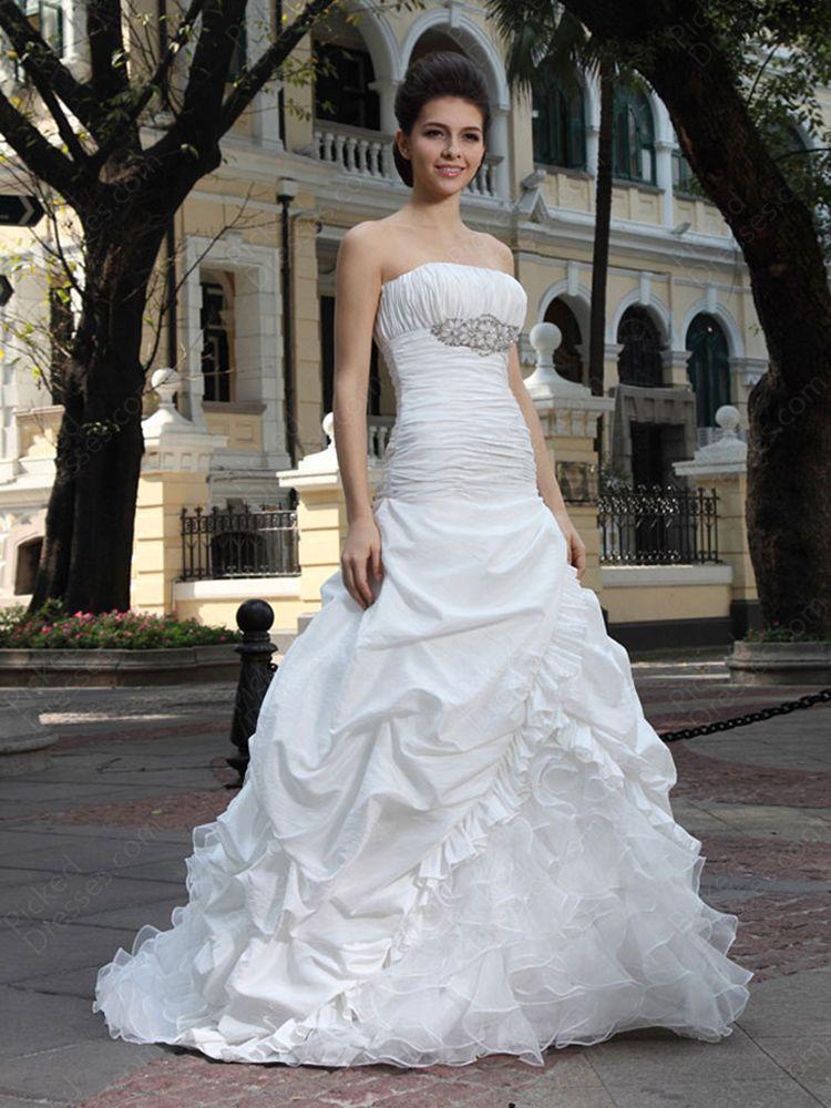Princess Strapless Wedding Dresses Wedding dresses
