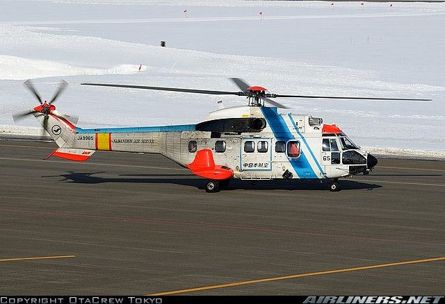 Aerospatiale AS-332L1 Super Puma   : Nakanihon Air Service