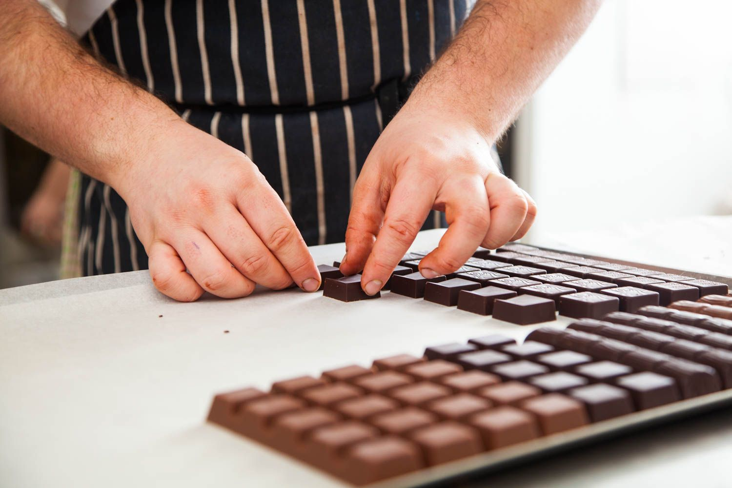 Couture Chocolate and bars will be a vailable in a variety of flavours