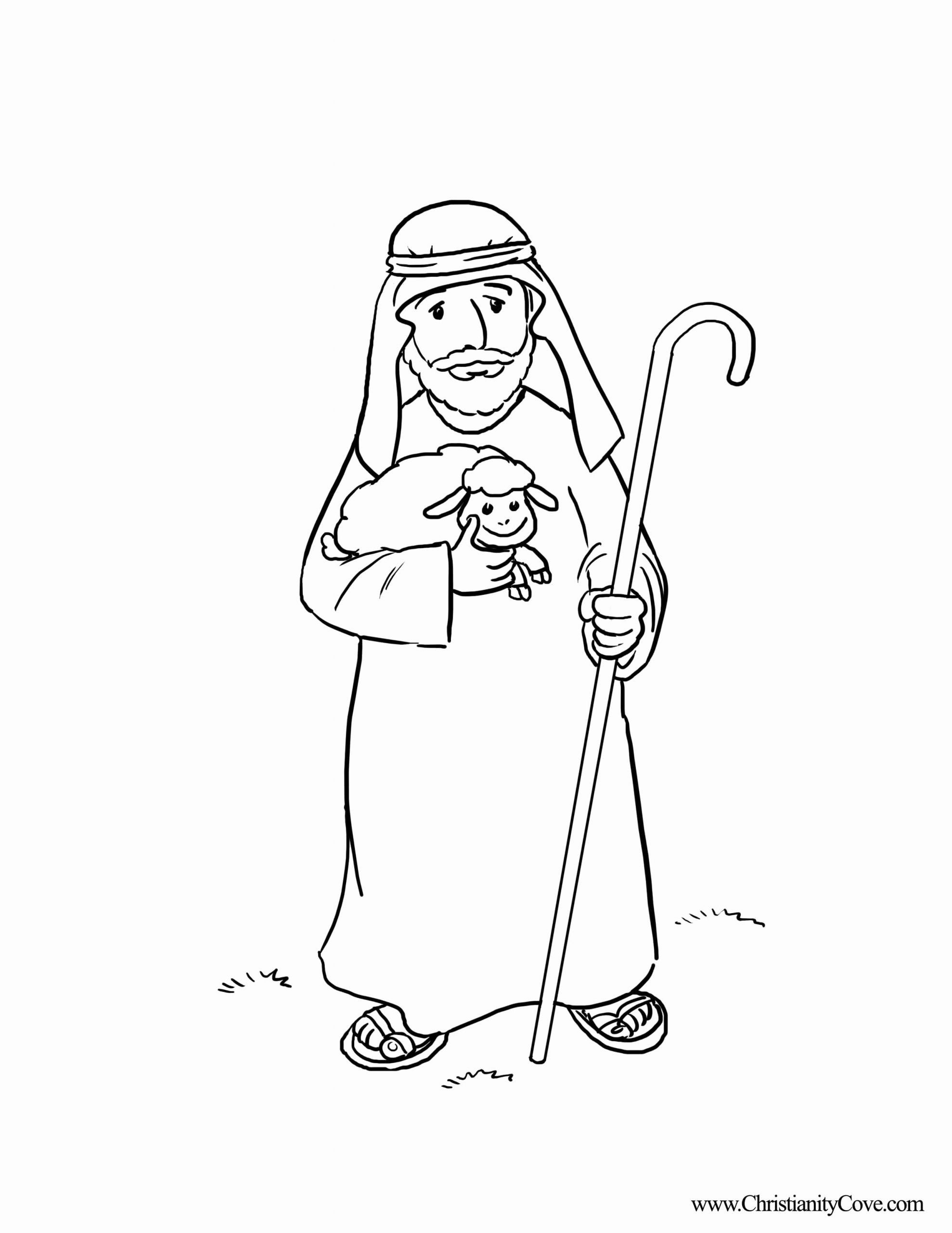 Good Shepherd Coloring Page Lovely White Shepherd Coloring Download White Shepherd Co Jesus Coloring Pages Coloring Pages Inspirational Nativity Coloring Pages [ 2560 x 1978 Pixel ]