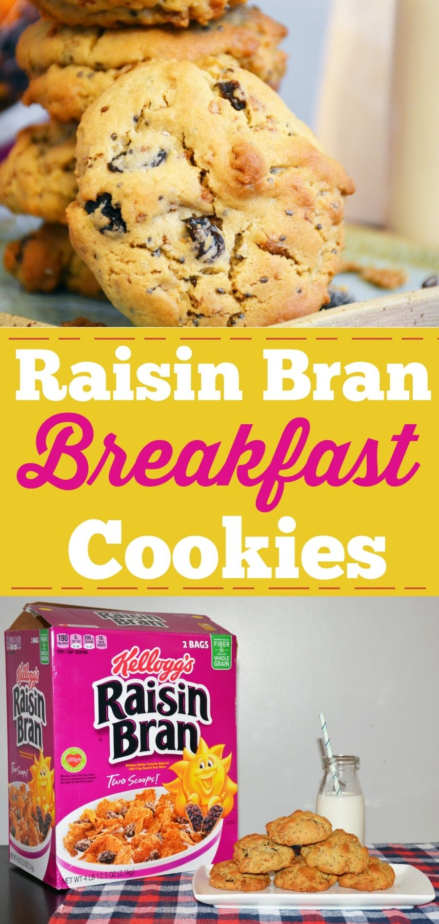 Raisin Bran Breakfast Cookies Recipe