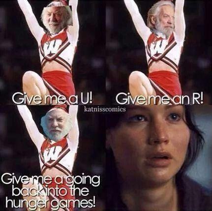 The Hunger Games humor | President Snow | Katniss Everdeen | Funny edits | Pics