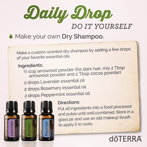 Naturally Essential Momma On Instagram Diy Dry Shampoo Yes Please So I Wash My Hair Once Or Twi Essential Oil Usage Diy Dry Shampoo Essential Oils