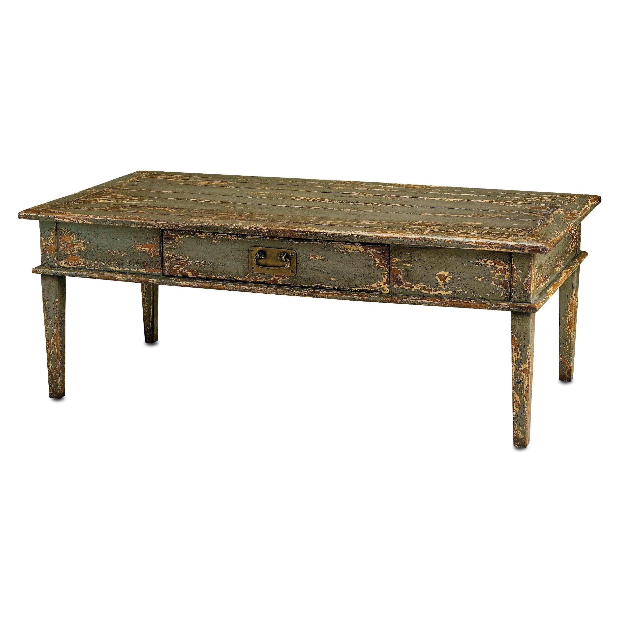 Solid Mango Wood Brass Coffee Table 54w X 28d 968 Howe Jones