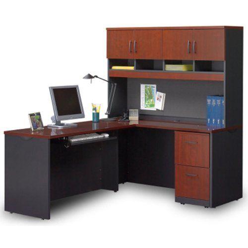 Compact L Desk By Sauder 879 00 Sauder Via Modular Collection