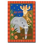 Found it at Wayfair - Trademark Art 'Giraffe and Elephant' Canvas Art