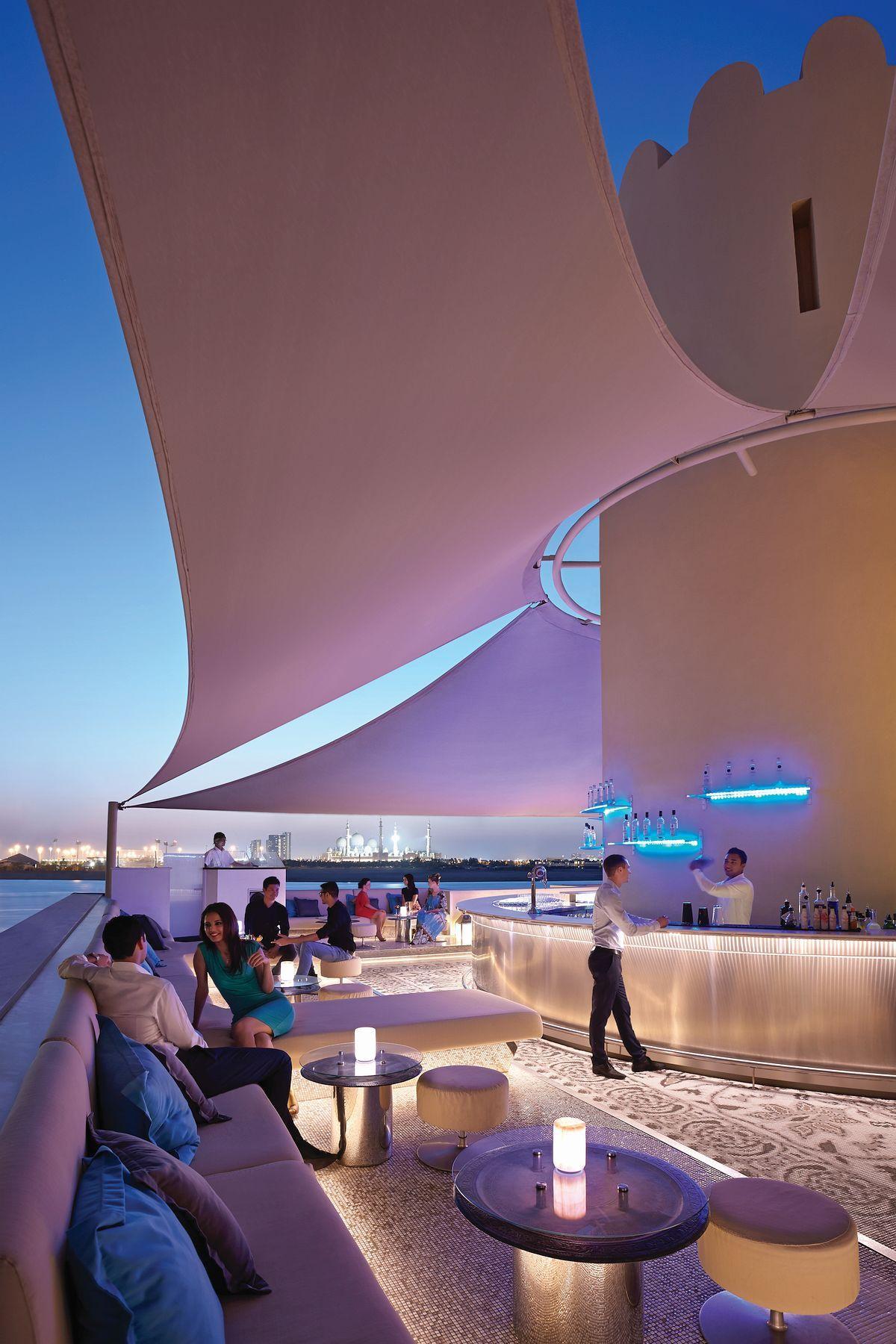 Shangri La Hotel Qaryat Al Beri Abu Dhabi A Rooftop