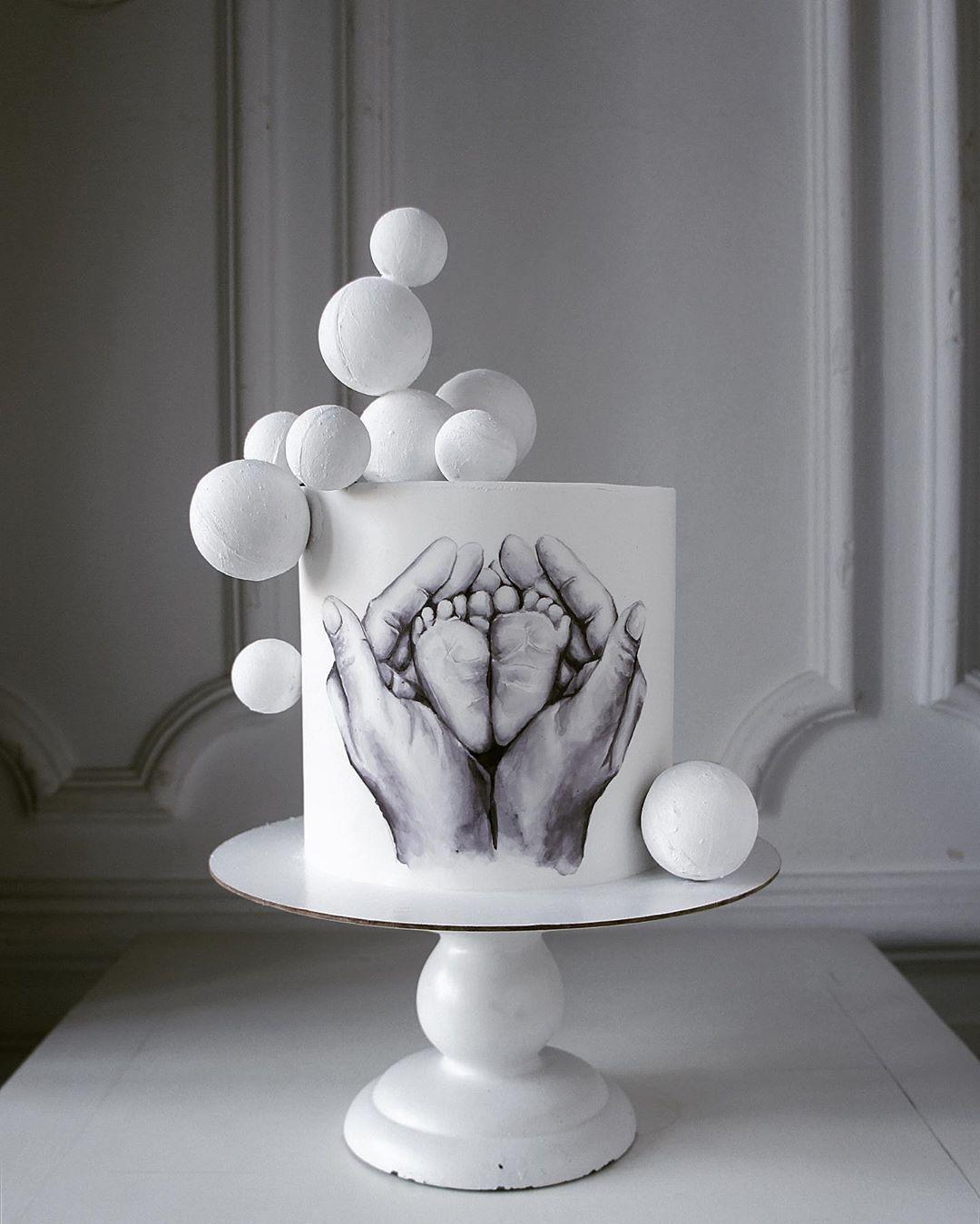 Нет описания фото. | Художественные торты, Торт, Пряник