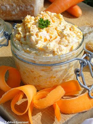 Un apéritif ou un pique-nique réussi avec ces rillettes de carottes au fromage frais !