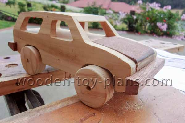 A Wood Toy Car You Can Make Free Plans With Full Size Template