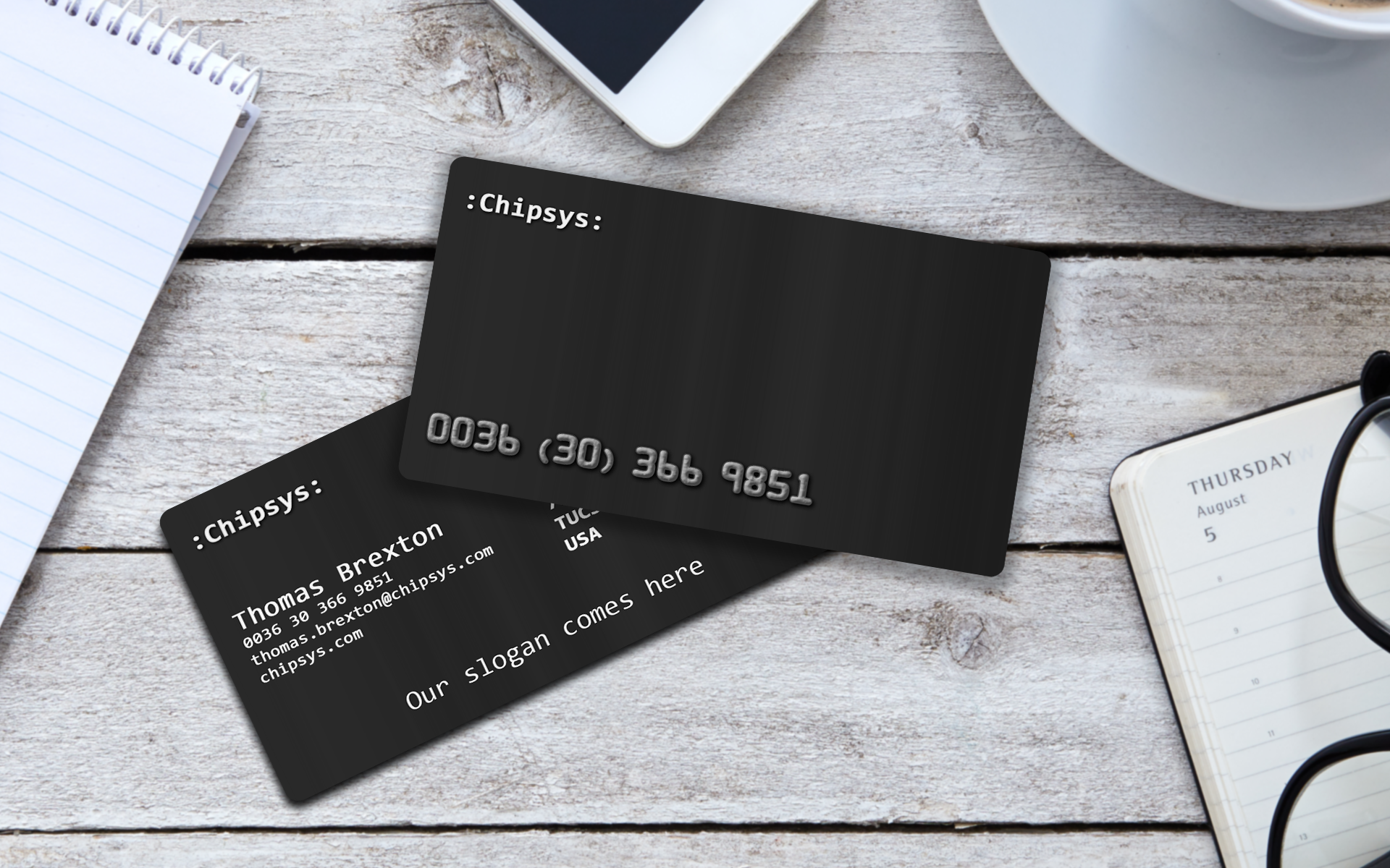 Elegant credit card business card. Check it out on etsy ...