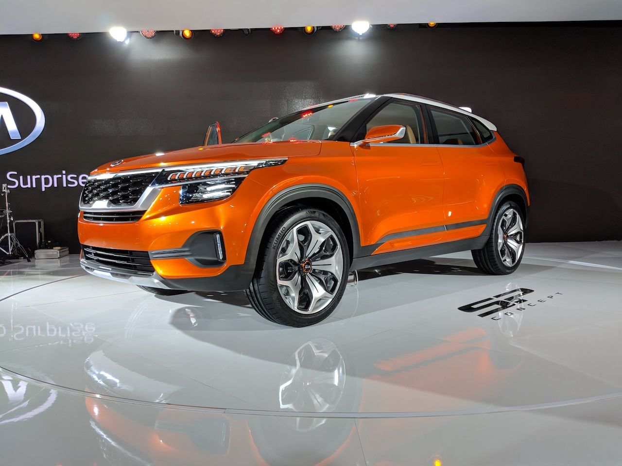Kia SP Conceptbased SUV to be followed by another SUV and