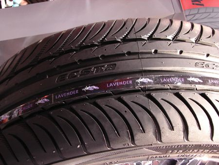 האחרון Kumho Creates New Rubbber Tires That Create Colored And Scented IU-48