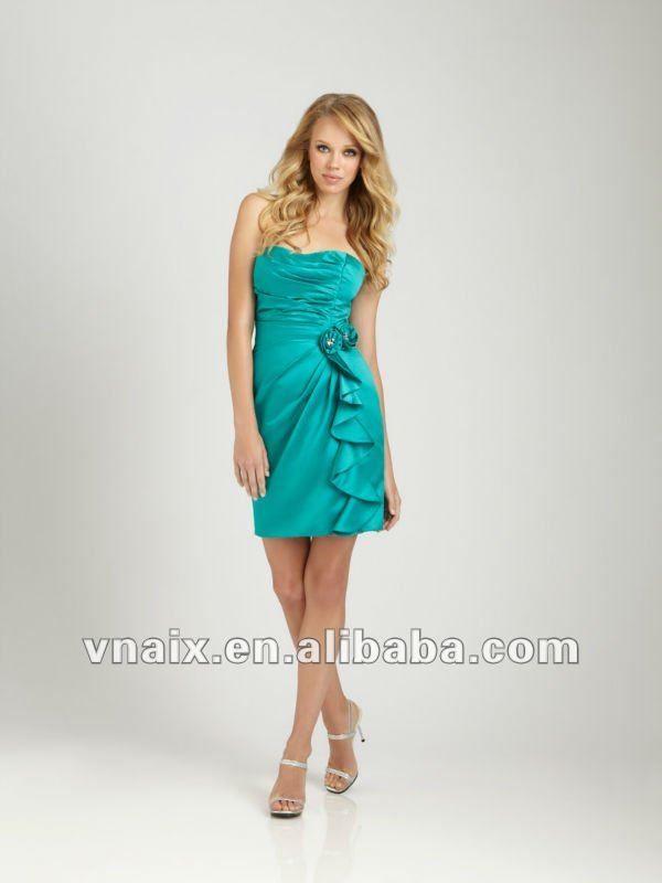 vestidos cortos para damas de honor de 15 años 1 profesional de ...