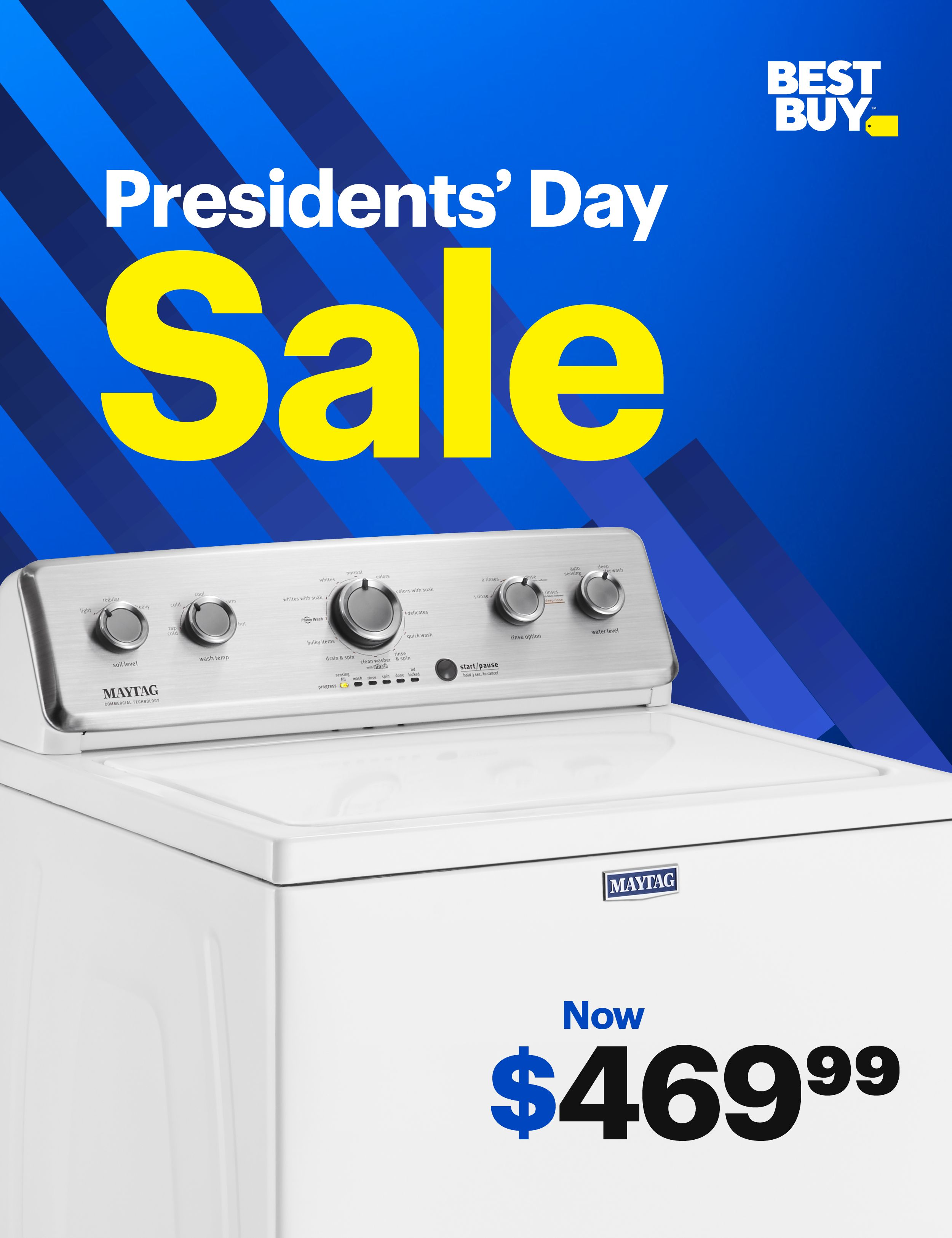 Save Up To 40 On Appliance Hottest Deals Featuring Maytag And Whirlpool Appliances So If You Re Looking For A New Washer Look In 2020 Cool Things To Buy Presidents Day Sale Washer
