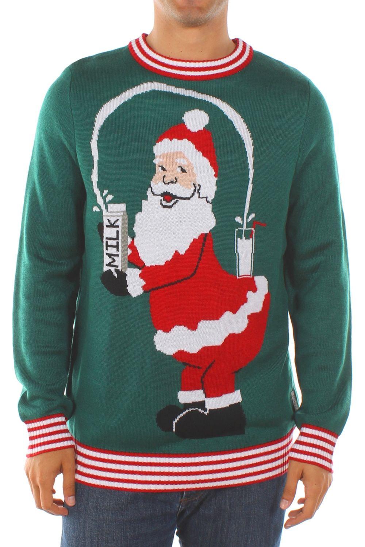 Men's Santa Break the Internet Sweater | North pole, Ugliest ...