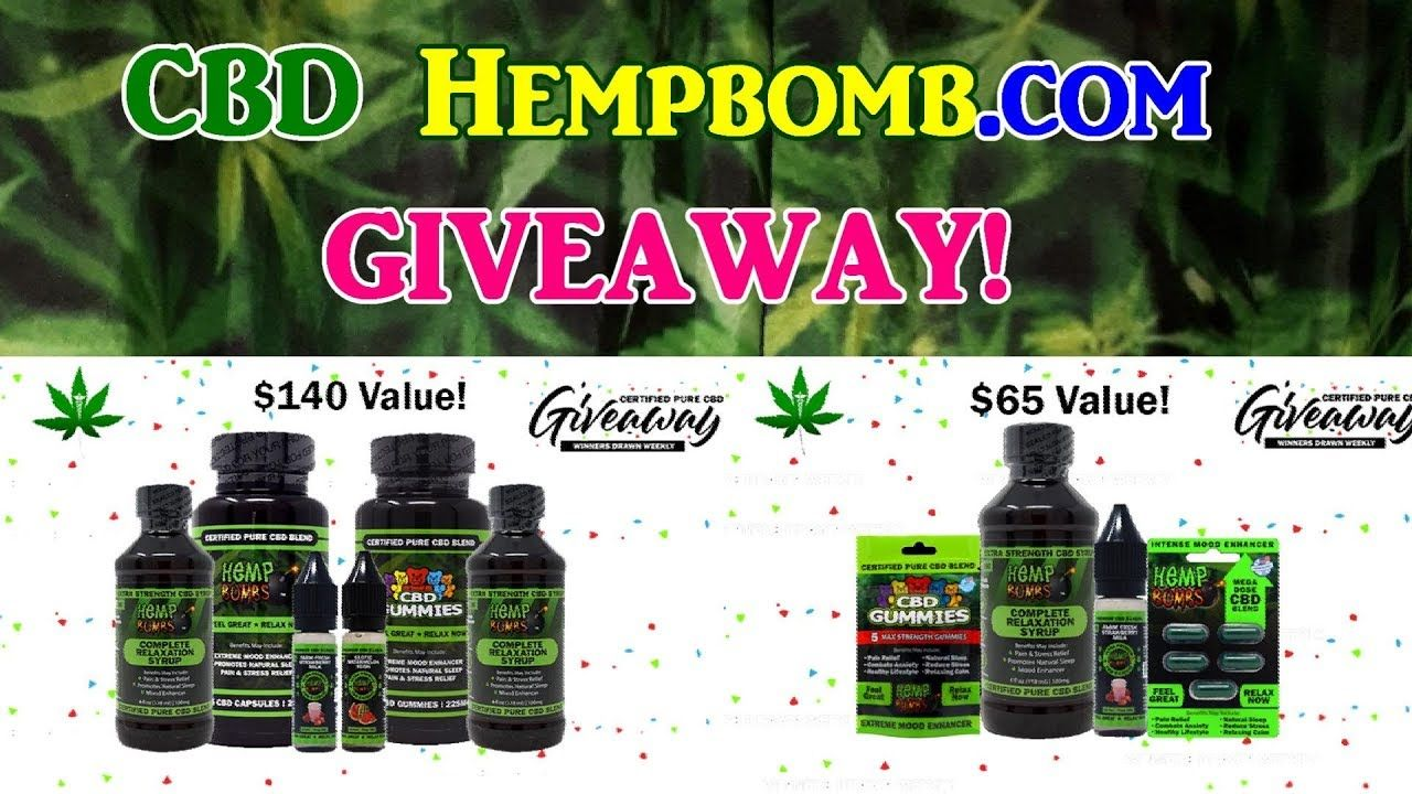 Cbd product giveaway open to us residents only powerade