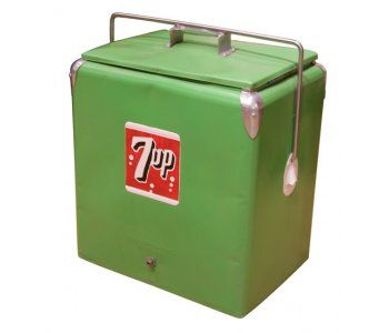Vintage 7up Cooler Love It With