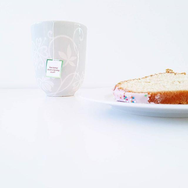 Life is too short to skip cake 🍰 #teatopics #ikwordblijvandezevragen #nogtweedagen