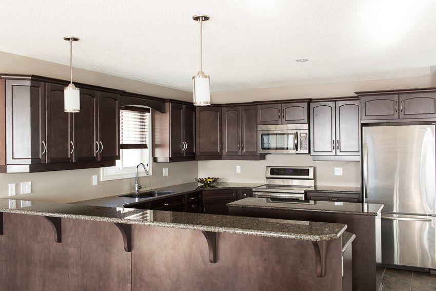 Beautiful cabinets and granite countertops | Home design ...