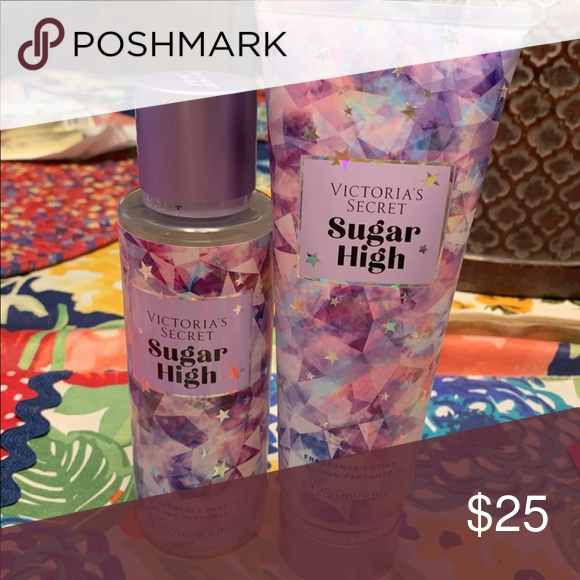 Sugar High Set Nwt Parfum