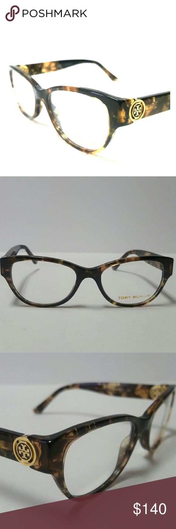 e800606a4c0 Tory Burch Eyeglasses New and authentic Tory Burch Eyeglasses Brown  tortoise frame 50-17-135 Includes original case Tory Burch Accessories  Glasses