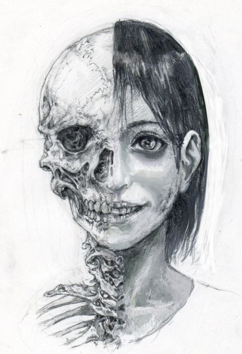 Skeleton | Haunting | Illustration art, Art, Decay art